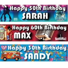 Adult Birthday Banners 6