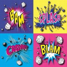 Pop Art Wall Stickers