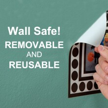 Wall Safe Movable Wall Stickers