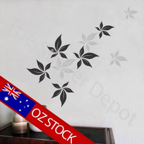 Maple Leaves Wall Sticker