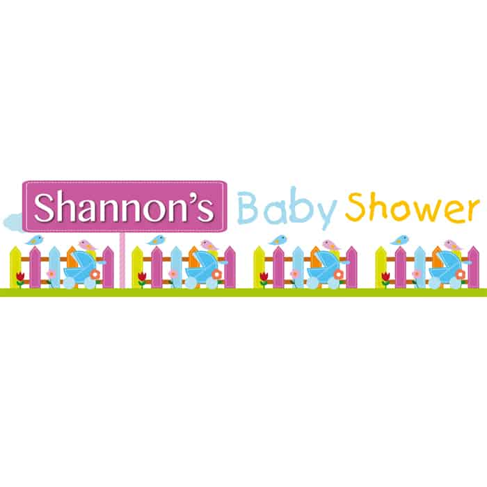 Christening / Baptism / Naming Day / Baby Shower Banners