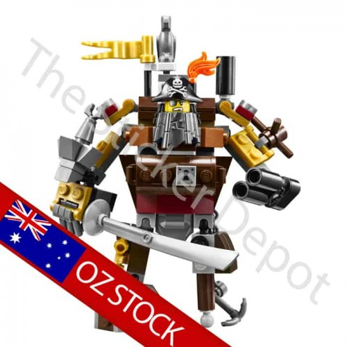 Metalbeard Lego Minifigures Sticker