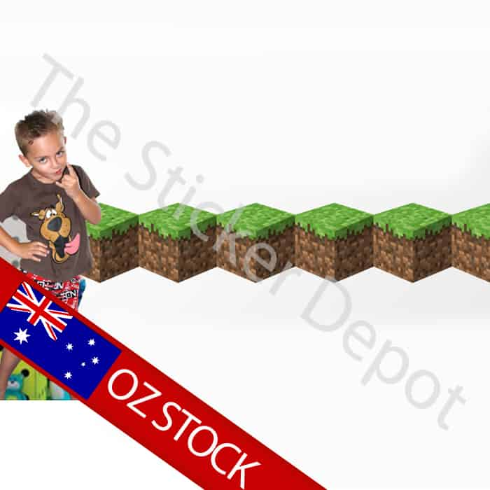 minecraft wall safe movable wall border sticker stickerdepot com au rh stickerdepot com au Minecraft Backgrounds Minecraft Characters