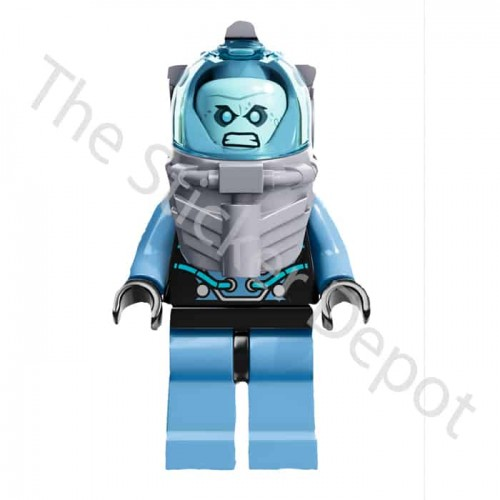 Mr Freeze Lego Minifigures Sticker