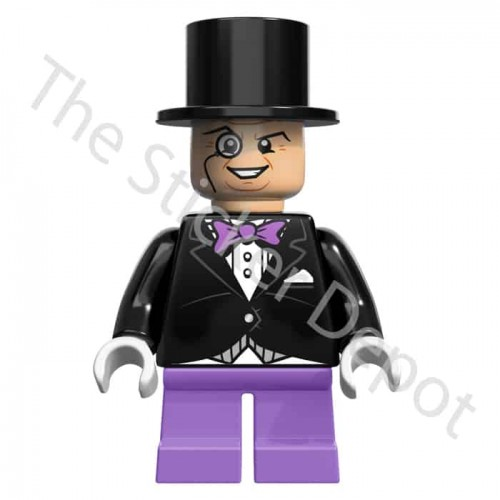 Penguin Lego Minifigures Sticker