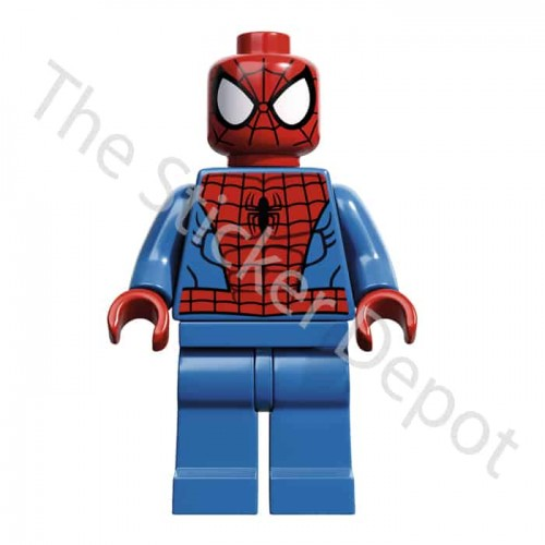 Spiderman Lego Minifigures Sticker